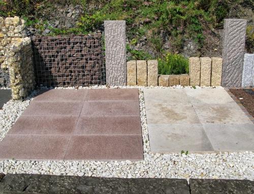Natursteinplatten